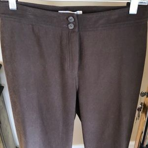 CWC FAUX SUEDE TROUSER